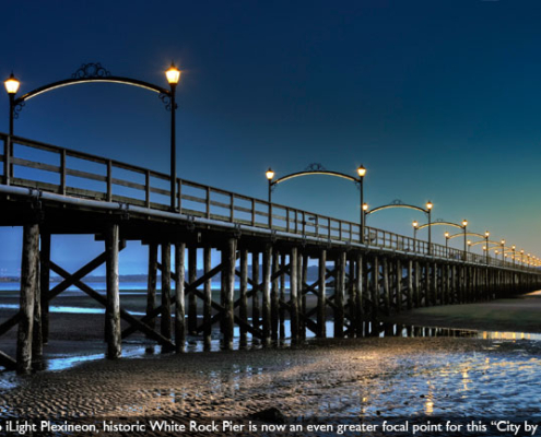 iLight Case Study: White rock Pier