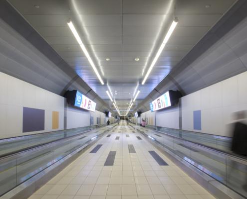 Billy Bishop Toronto City Airport Pedestrian Tunnel