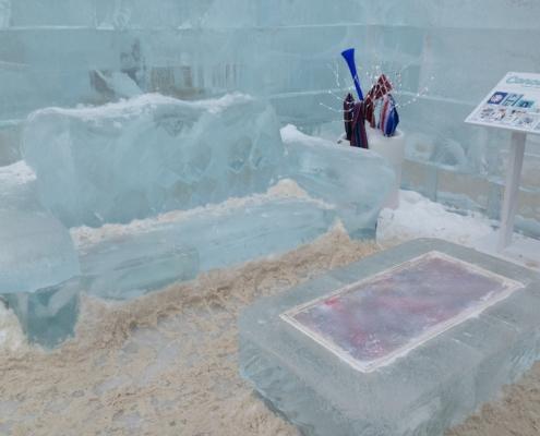 Salex Lumca Training & Team Building Ice Sofa Coffee Table