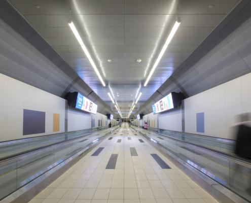 Salex Billy Bishop Toronto City Airport Pedestrian Tunnel