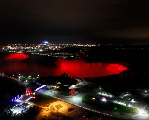 Niagara Falls Illumination Enhancement